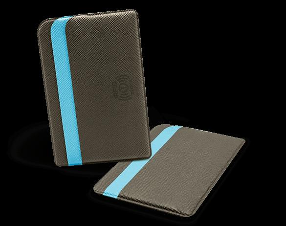 Футляры с RFID-защитой из экокожи