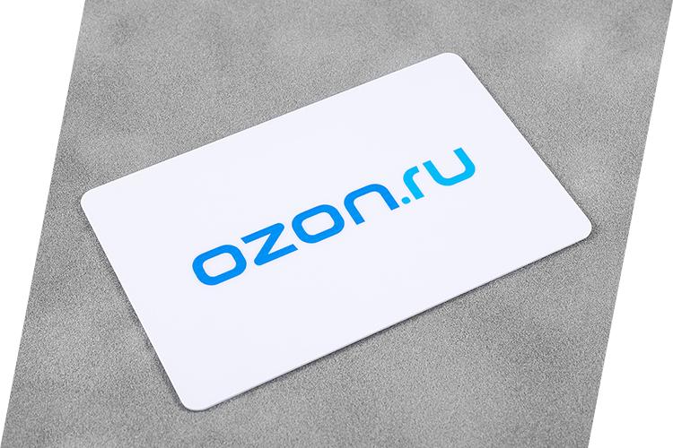 Карта Ozon
