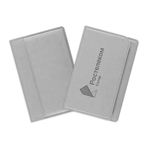 Футляр-книжка для трех карт с RFID-защитой